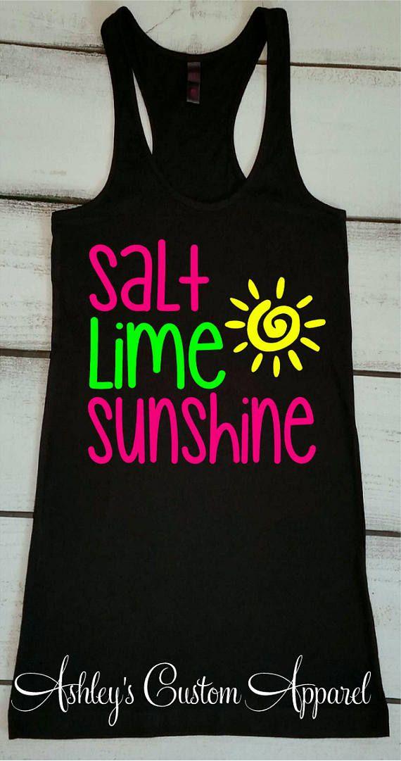 Beach Tank Top Sunshine Shirt Vacation Shirts Summer Tank | Etsy