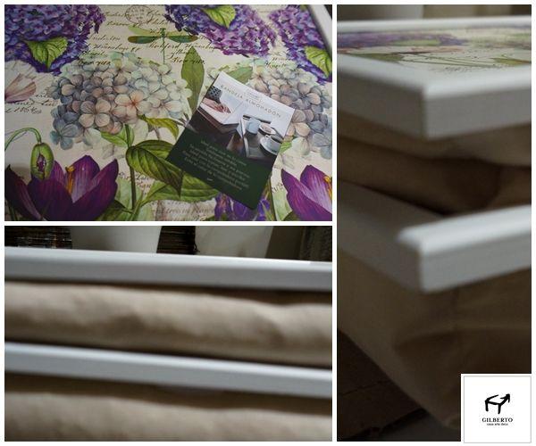 Bandejas con almohadones para tu cama
