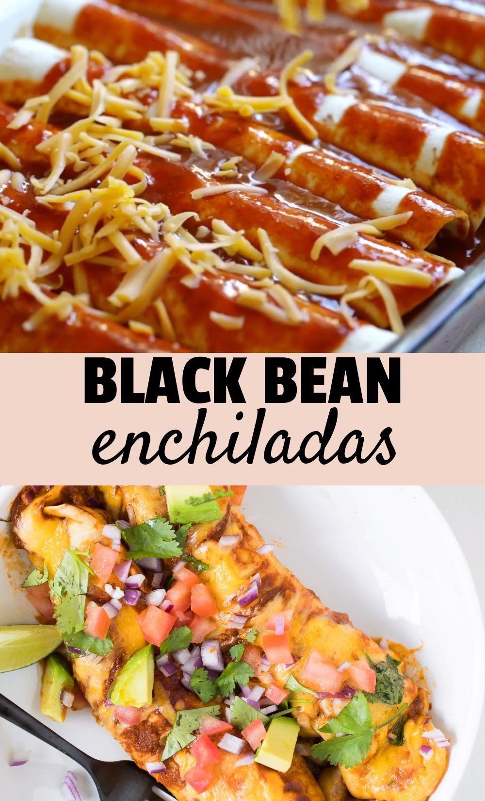 Black Bean Enchiladas (**VIDEO**)
