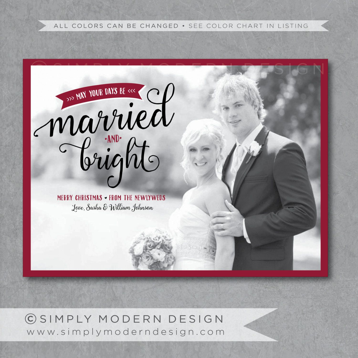 First Married Christmas Card | Arts - Arts