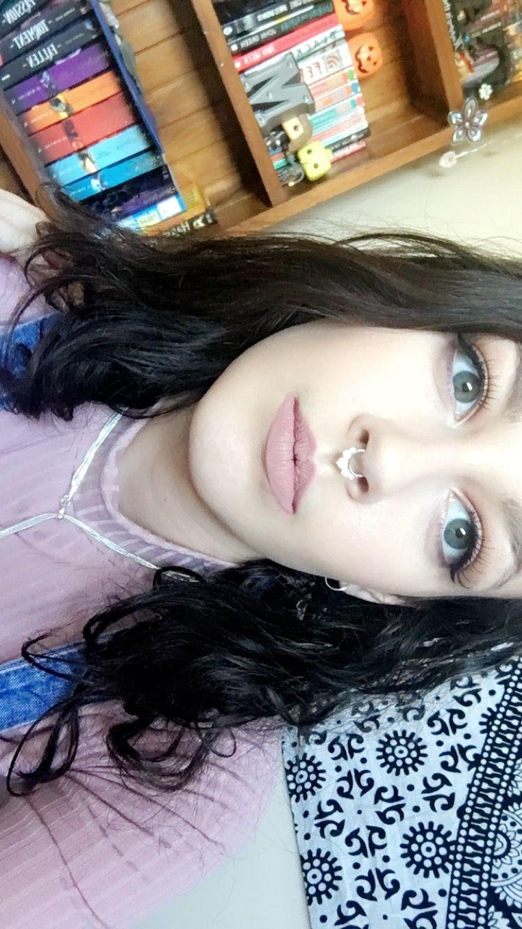 90s nose piercing  makeup beauty septum  Hair and Beauty  Pinterest  Septum and