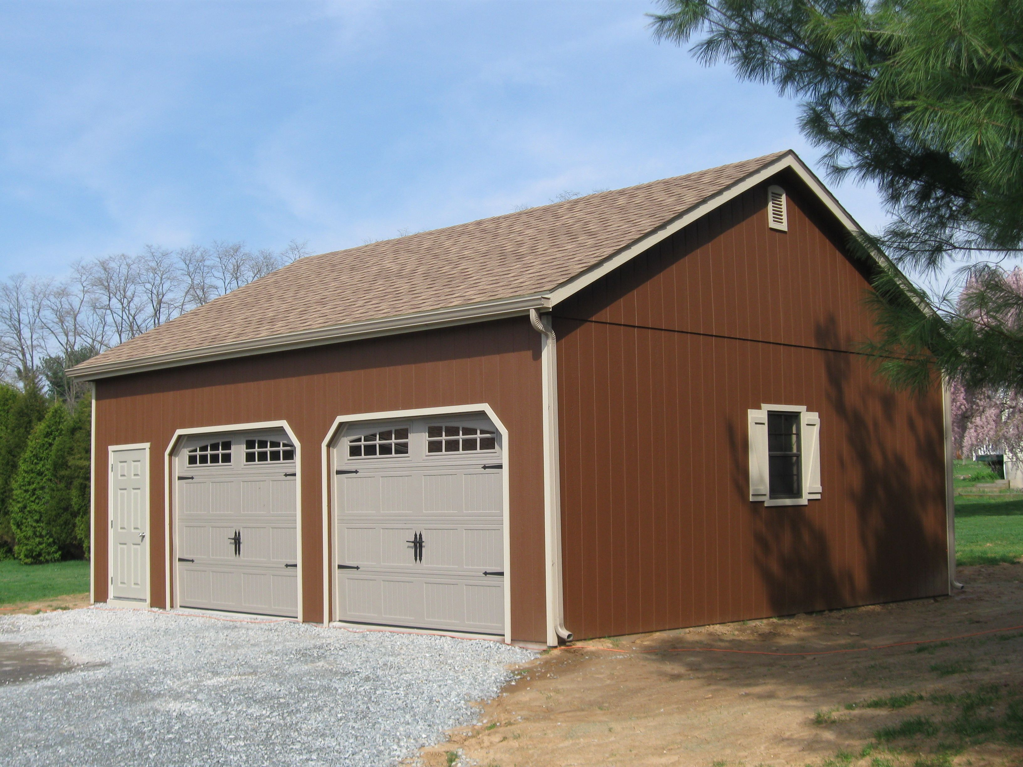 Best Garage Storage Sheds Double Wide 7 Pitch Roof And Mega 400 x 300