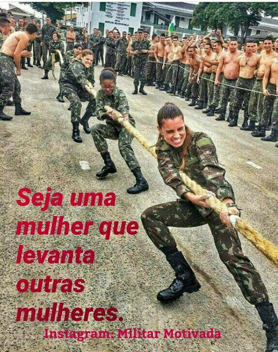 Imagem De Frases De Mulheres Guerreiras Por Duuh M Em Militar