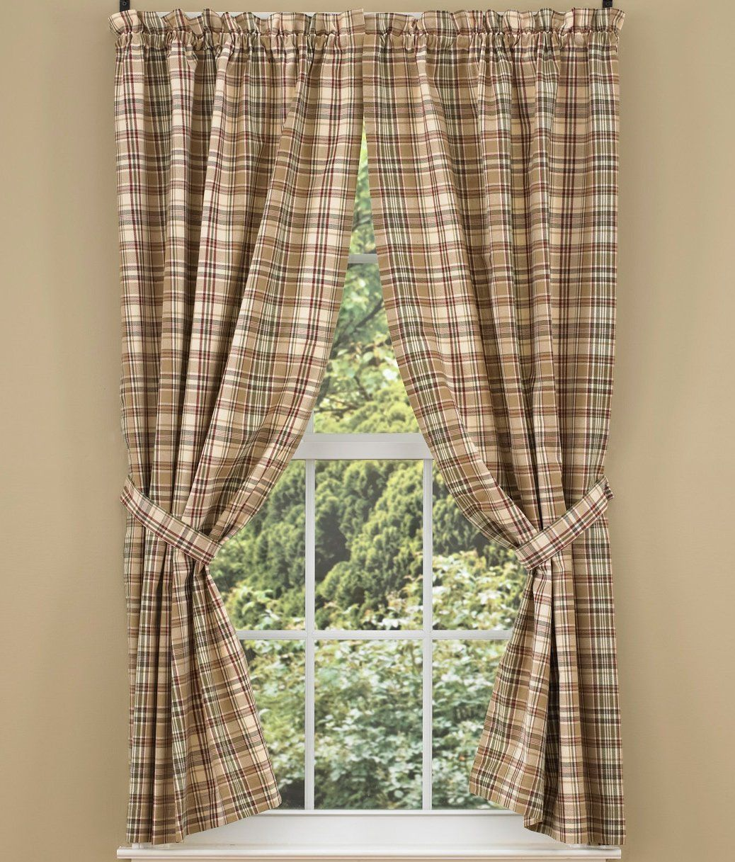 Park Designs Thyme Panel 72 X 63 Green Curtains Curtains Drapes Curtains