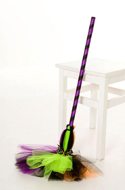 Broom Halloween | Spellbinder Broomstick Halloween Witch Costume Accessory Child