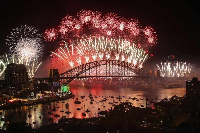 Pictures show stunning New Year's Eve fireworks displays