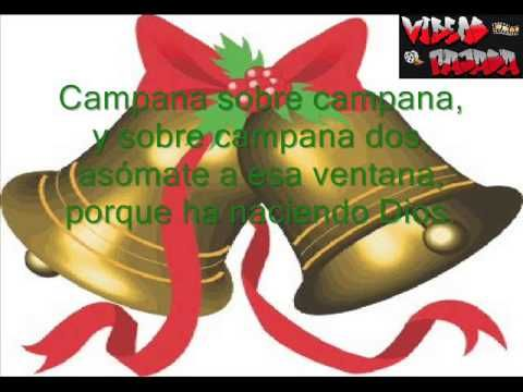 Campana Sobre Campana Letra Cancion De Navidad Villancicos Navideños Canciones