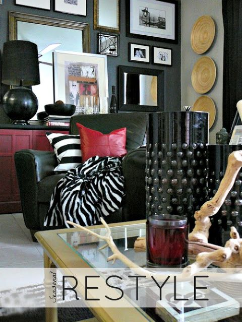 From Fashion to Décor - Animal prints & Stripes are still going strong! Layer your look with a touch of  these easy & affordable finds (like pillows & throws) from #HomeGoods Lynda Quintero-Davids #FocalPointStyling #HappyByDesign #HomeGoodsHappy