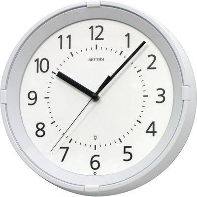 Rhythm U S A Inc Gemini 11 Wall Clock Wall Clock Light Clock Rhythm Clocks