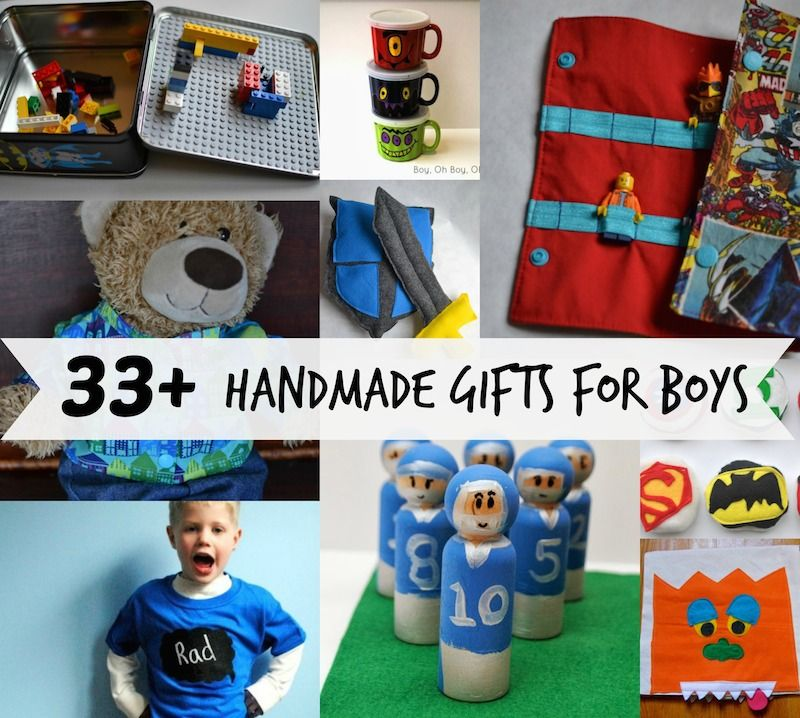 33 Handmade Gifts For Boys Patterns Tutorials And