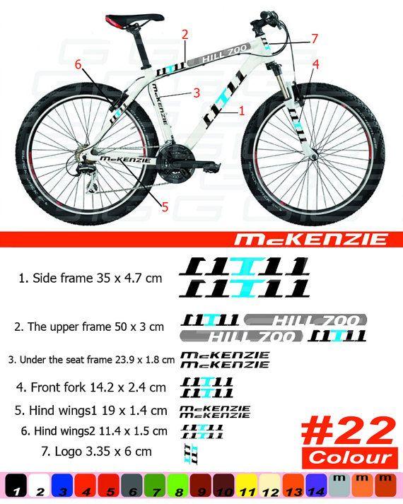 GT Bikes Decal Sticker BMX  White Wings Pair