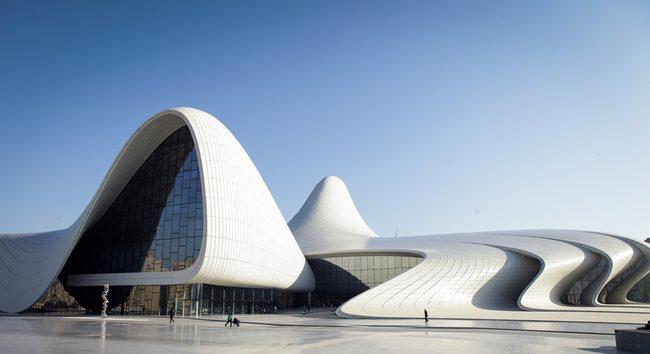 Heydar Aliyev Center Baku Explorer Zaha Hadid Zaha Architecture