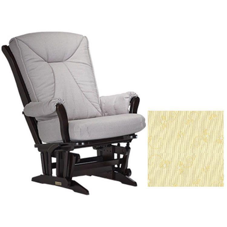 Dutailier Grand Chair Multiposition Reclining 912 Glider In Espresso W Cushion 4029