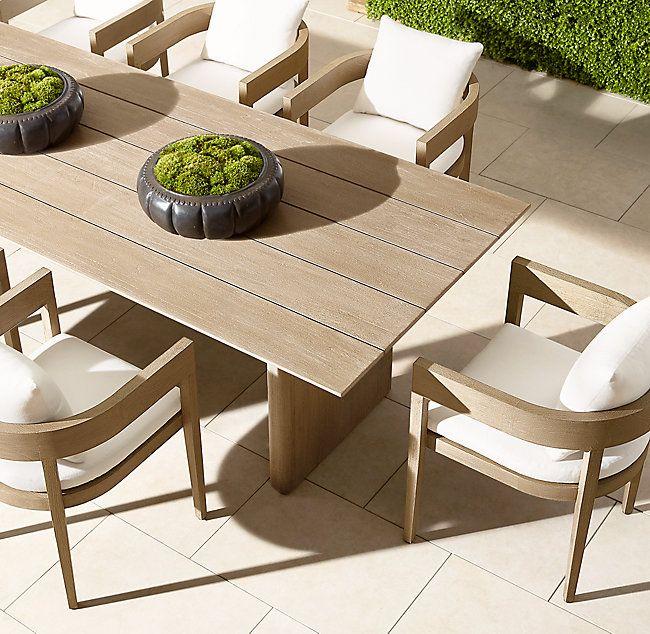 Balmain Teak Rectangular Dining Table In 2020 Dining Table Design Outdoor Dining Outdoor Dining Set