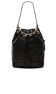 Foley + Corinna Billy Bucket Bag in Black