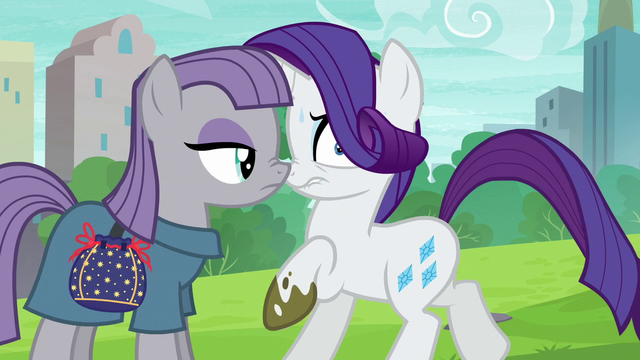 maud pie rock pouch | The confrontations between Maud and Rarity, then Maud and Pinkie, were ...