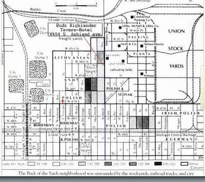 Back of the Yards map | Sweet Home, Chicago | Pinterest | Chicago