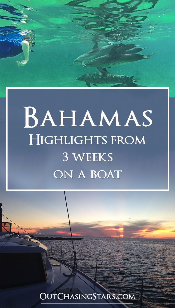 Sailing Charters In The Bahamas: Sailing In The Bahamas For Three Weeks