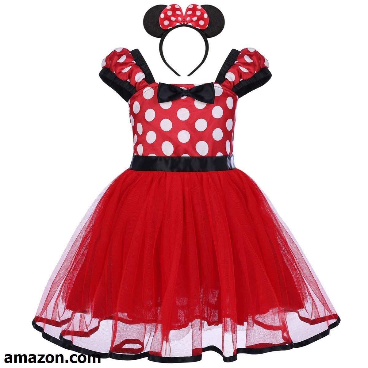 9a8e648894f1 FYMNSI Baby Girls Polka Dots Princess Ballet Tutu Dress Birthday ...