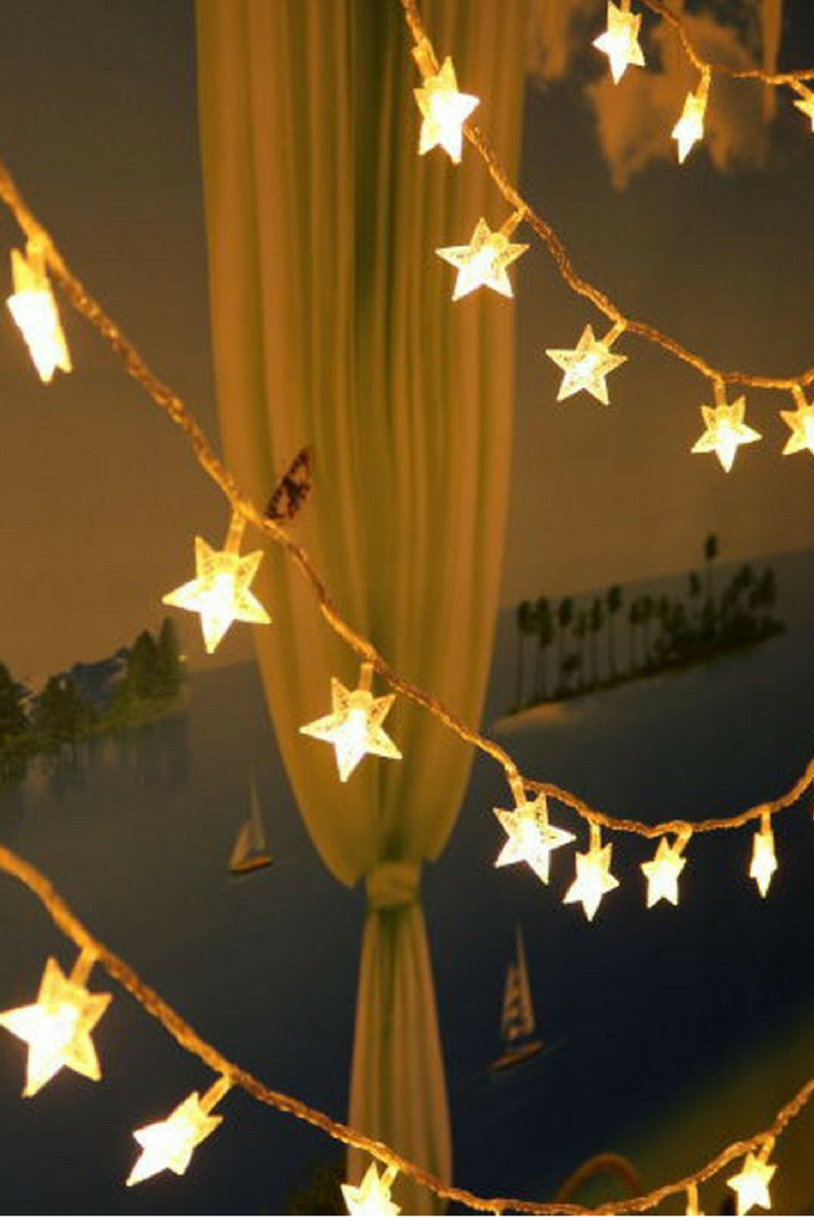 fairy lights stars battery operated string lights shhe 5m 40 led decorative lighting for home wedding
