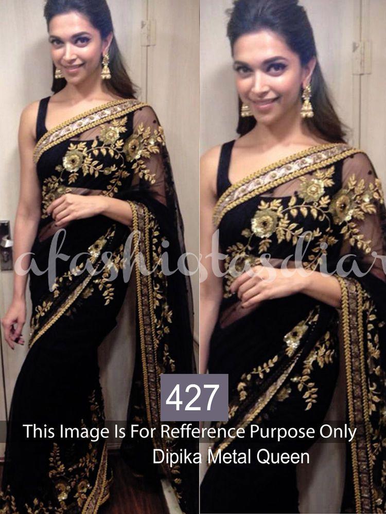 PAKISTANI ETHNIC WEDDING PARTY WEAR SAREE INDIAN BOLLYWOOD DESIGNER SARI