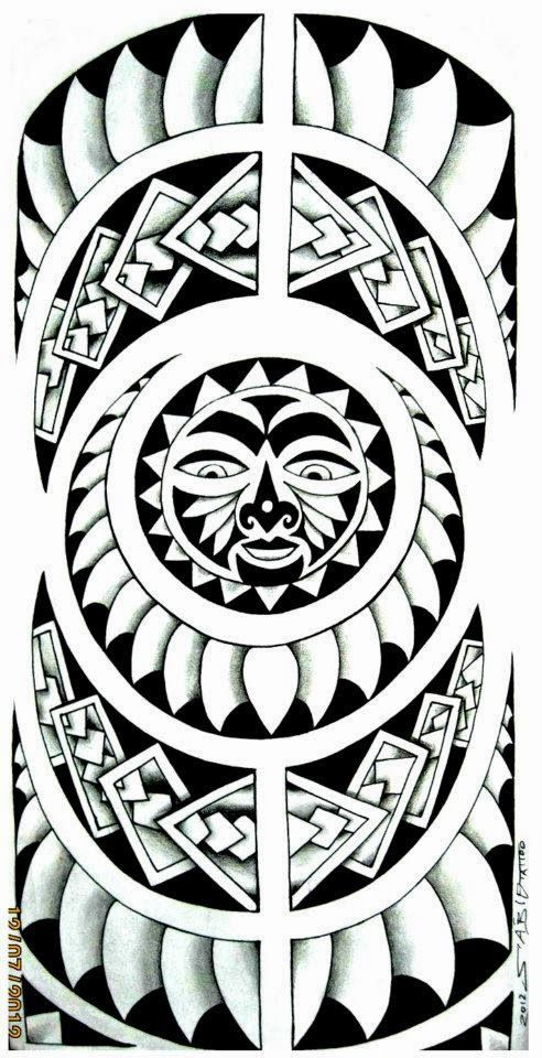 Tattoo Maori E Tribal So As Top Mlk Tattoo Maori Perna Desenhos