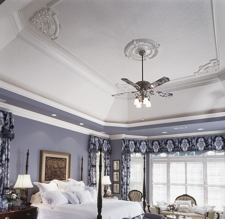 decorative ceiling corners and panel molding | Moldings ...