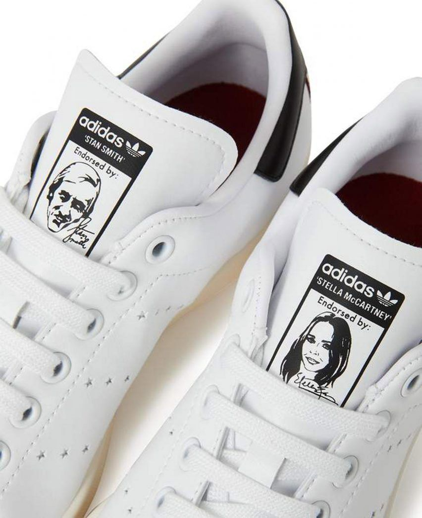87bad93d0c68 Stella McCartney and Adidas launch vegan Stan Smiths