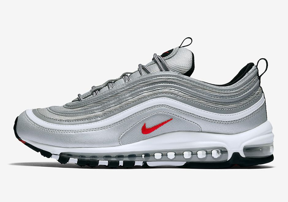Air Max 97 Silver Europe And Usa Release Dates Sneakernews Com Nike Air Max 97 Nike Air Max Air Max 97