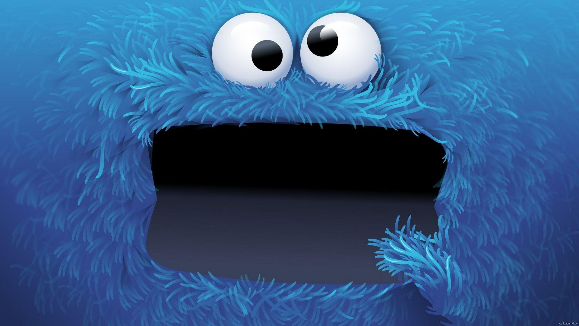Cookie Monster Cookie Monster Wallpaper Monster Cookies Cartoon Wallpaper