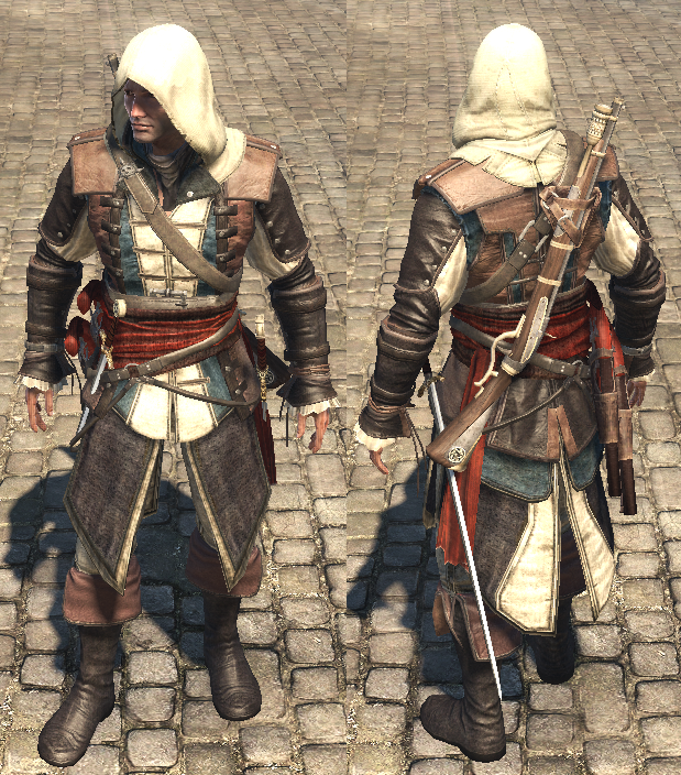 Assassin S Creed Rogue Outfits Assassin S Creed Wiki Fandom In 2020 Assassins Creed Artwork Assassins Creed Black Flag Assassins Creed Rogue
