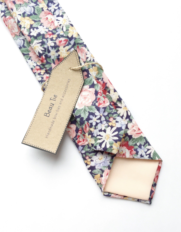 91afca603d3c Men's floral tie in blush, blue and yellow #floraltie #blushpink #menswear  #wedding2019 #2019wedding