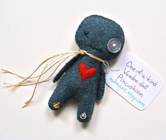 Voodoo Doll Funny Gift for Her Halloween Gift Handmade Voodoo Doll Pincushion One of a Kind Voodoo D & Voodoo Doll Funny Galentine Gifts for Friends/Co-worker Handmade ...