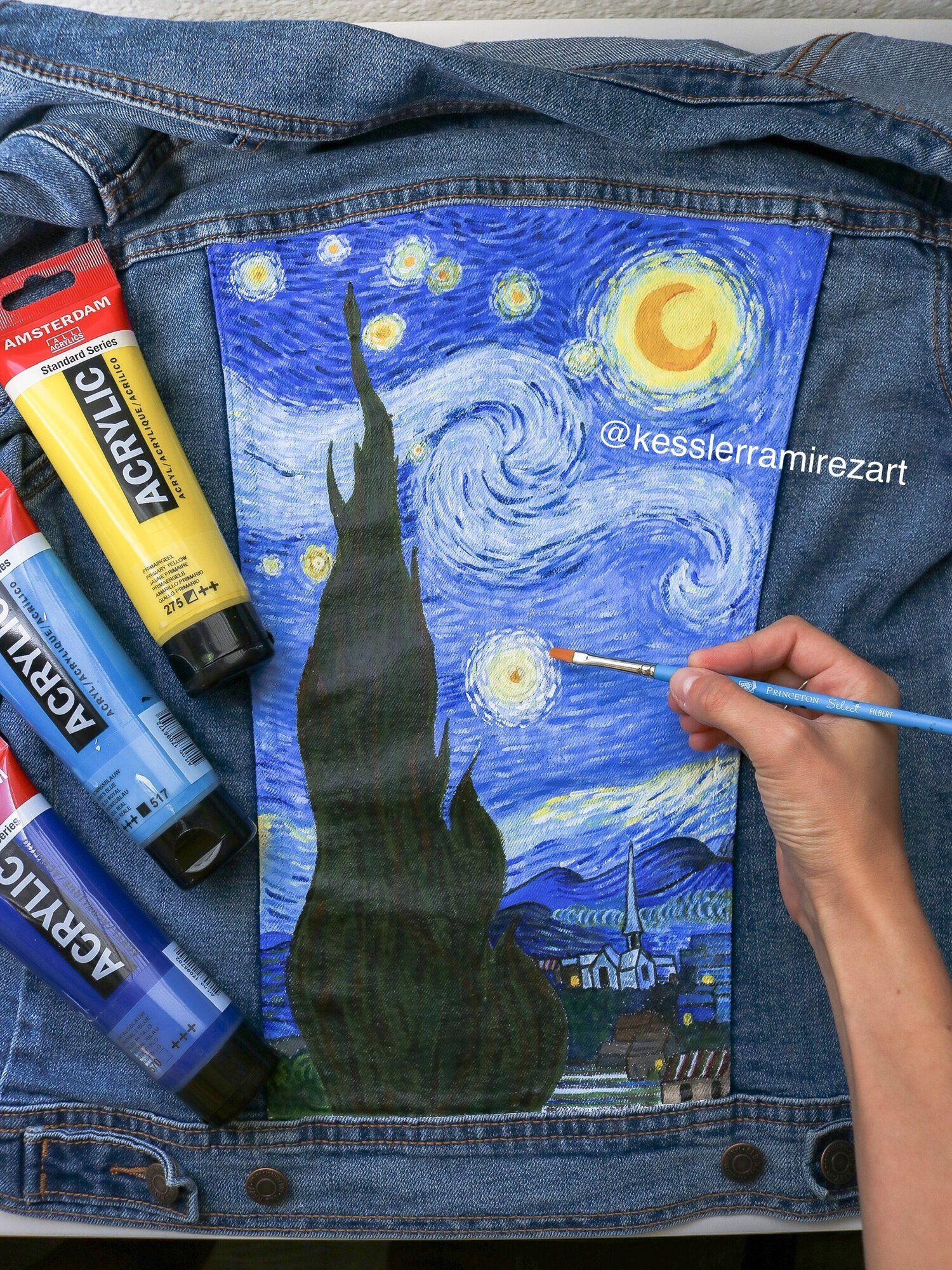 Denim painting 101 paint and supplies kessler ramirez