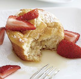 Check out Pancake Soufflé Muffins with Strawberry-Maple ...