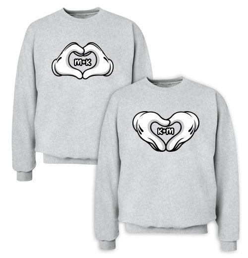 Couples hoodies