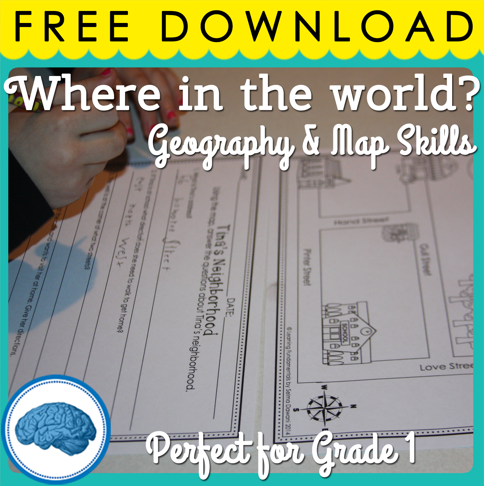 Where In The World A Free Mini Geography Unit For First