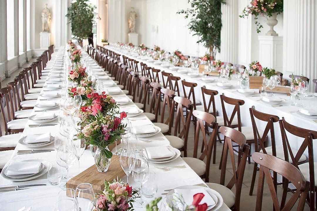 the orangery at kensingtonpalace in all its glory for a wedding reception last year royal family weddings wedding reception wedding for a wedding reception last year