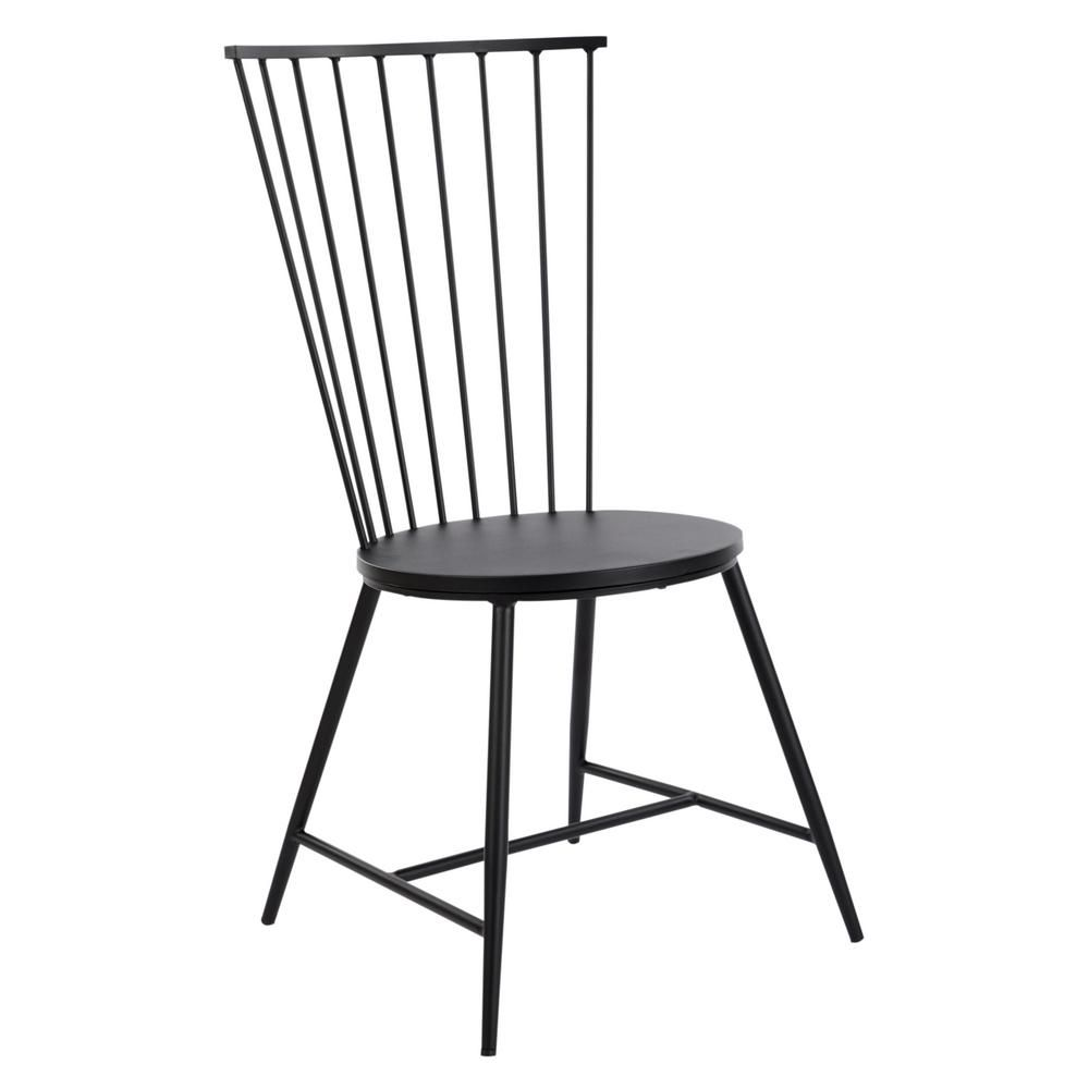 Brilliant Osp Home Furnishings Bryce Black Metal Dining Chair Black Ocoug Best Dining Table And Chair Ideas Images Ocougorg
