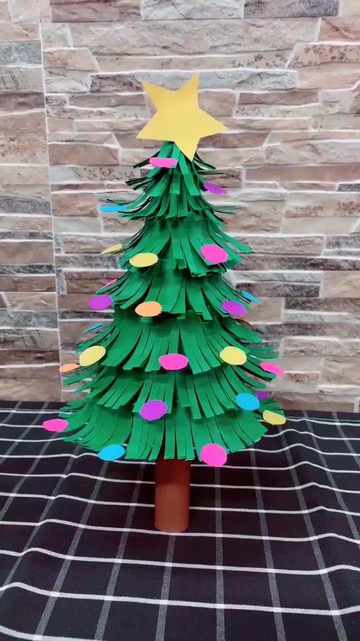 Diy Christmas Tree Video Christmas Tree Crafts Diy Christmas Tree Christmas Decorations