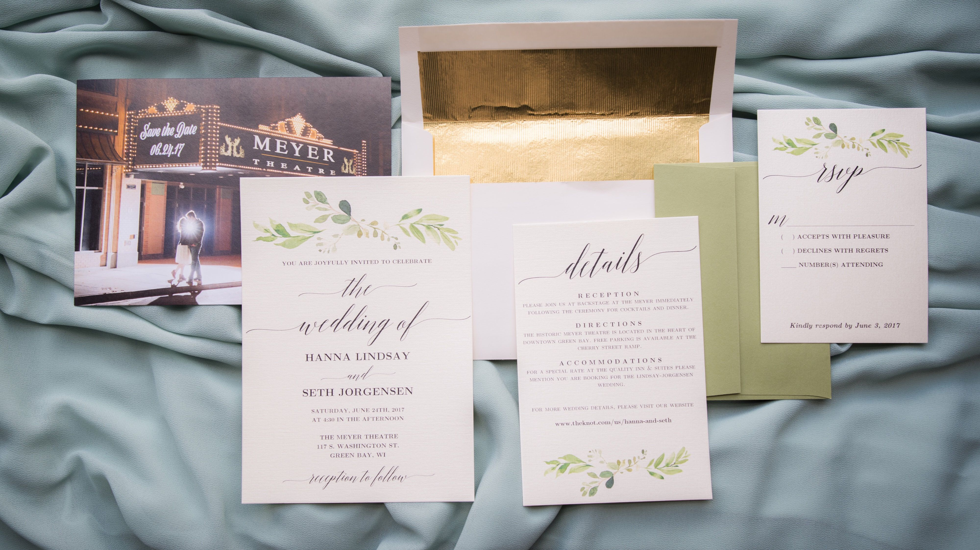 Lay Flat Invites Save The Date Rsvp Www