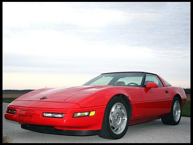 1996 Chevrolet Corvette Coupe 350 330 Hp 6 Speed Mecumindy Chevrolet Corvette Corvette Little Red Corvette