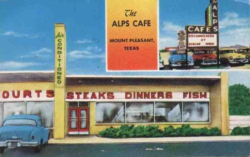 The Alps Cafe Mount Pleasant Texas Mount Pleasant Mount Pleasant Texas Alps