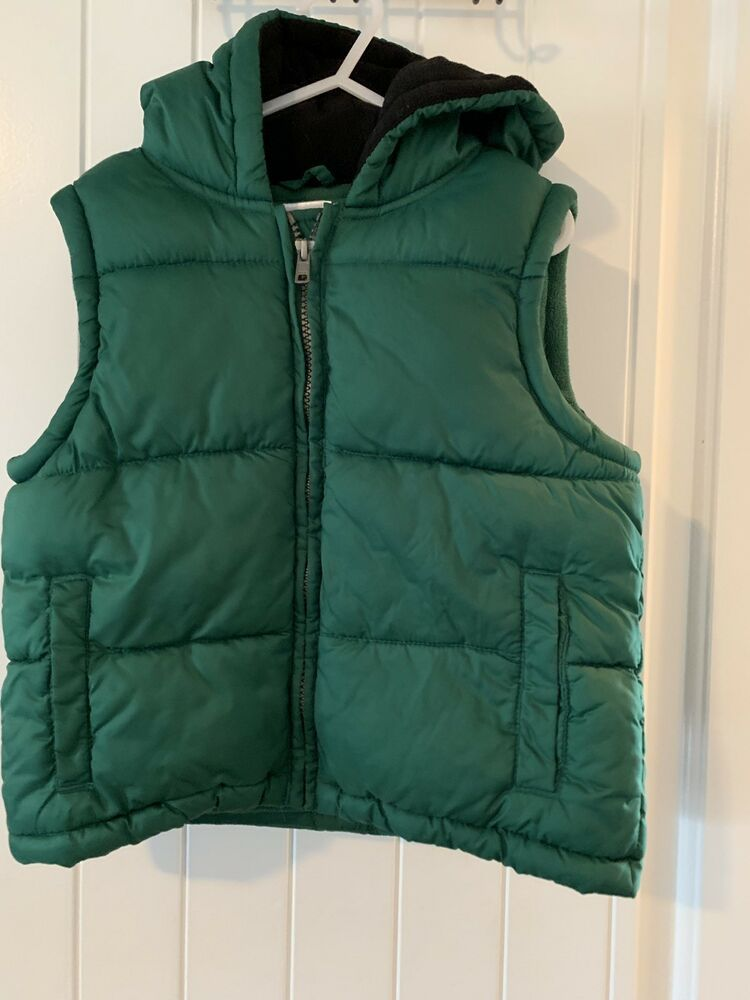 6a29cf22a Gymboree Boys Green Puffer Jacket Size 3-4 #fashion #clothing #shoes ...