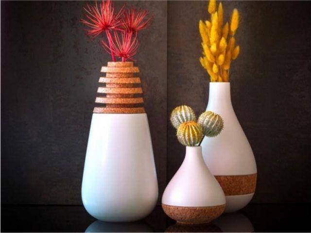 Wonderful 35 Creative Decorative Vases To Beautify Your Home Ideas #creativemarket  #creativewriting #creativehome