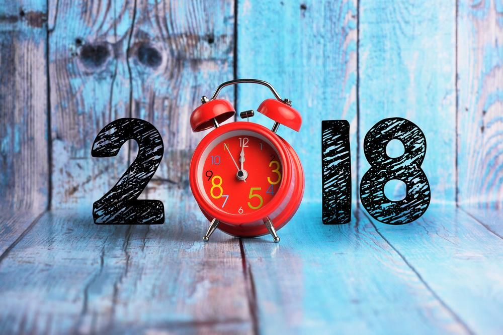 new year 2018 background image clock countdown facebook covers