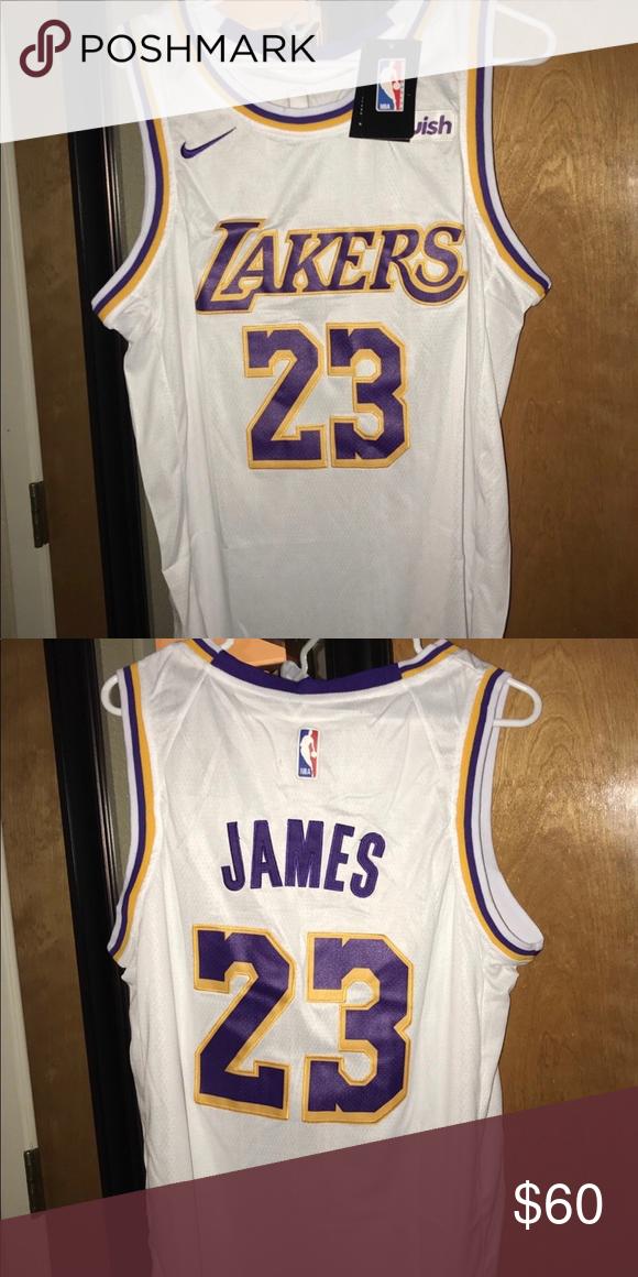 online retailer 437c2 eddf4 Los Angeles Lakers LeBron James Jersey Los Angeles Lakers ...