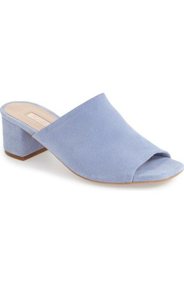 f5a90cf4bef Topshop  Nino  Suede Mule (Women) available at  Nordstrom