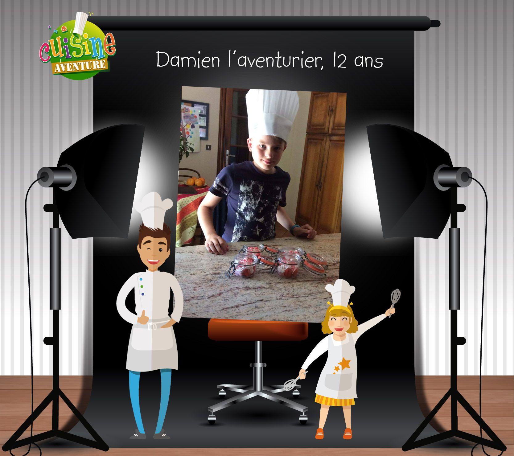 Pingl par cuisine aventure enfants sur cuisine aventure - Cours de cuisine enfant ...