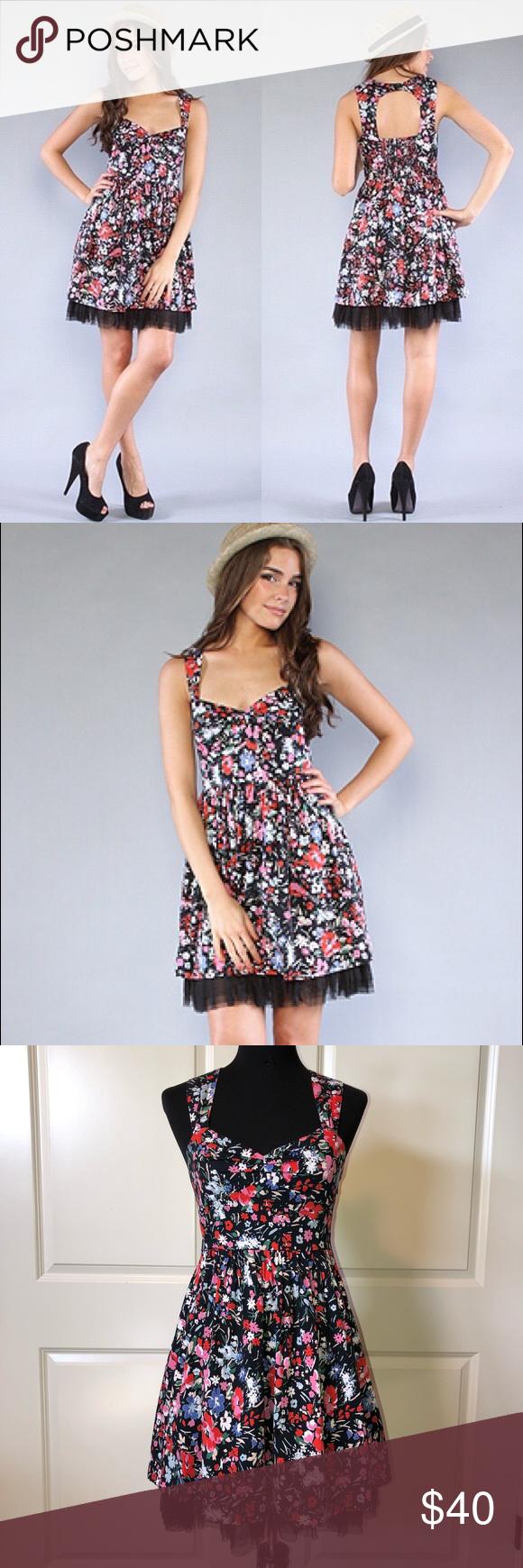 Free People Floral Sunkissed Summer Dress Summer Dresses Clothes Design Dresses [ 1740 x 580 Pixel ]
